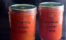 Coulis de tomate maison