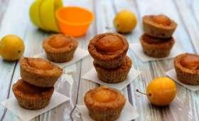 Mini muffin à la mirabelle et vanille sans sucre ajouté