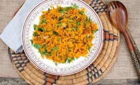 Zaalouk de carottes (ou caviar de carottes)