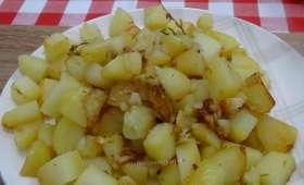 Pommes de terre rôties au Cookéo