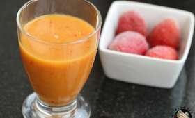 Smoothie de mangue aux fruits