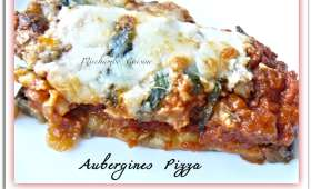Aubergines pizza