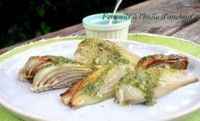 Fenouils à l'huile d'anchois