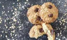 Cookies amande et flocons d'avoine