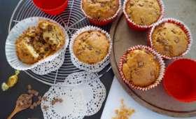 Muffins au caramel et au chocolat au lait