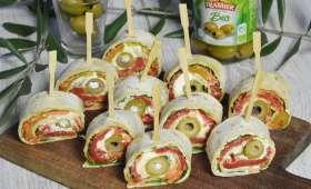 Wraps aux légumes et olives vertes Bio