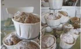 Muffins Miel, Cannelle, Banane, Noix de Pécan et Raisins