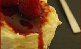 Cheesecakes glacés aux framboises