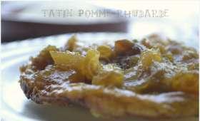 Tarte Tatin Pomme-Rhubarbe