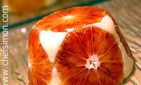 Gateau de semoule aux oranges