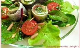 "Filets de sardines en marinade ""citron-persil"""