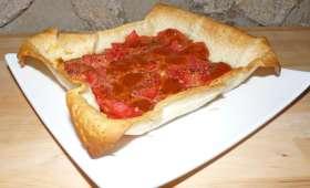 Salades, ratatouille, tarte à la tomate et légumes lacto-fermentés