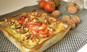 Gratin dauphinois de légumes bio au mascarpone
