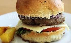 Burger maison - Pains buns maison