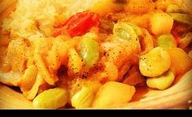 Curry De Poulet à La Mangue
