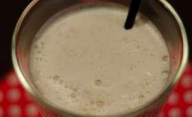 Milk-shake glacé au carambar