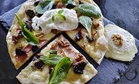 Pizza qui se prenait pour une salade