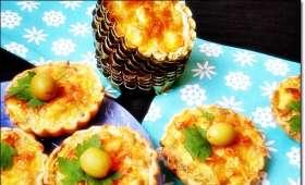 Mini quiche thon / olive