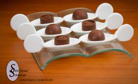 Chocolat au lait fourré confiture de lait
