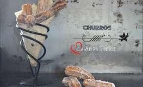 Churros au sucre tonka