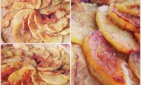La tarte tropicale à la goyave et aux pommes