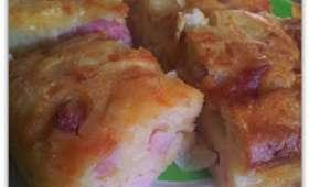 Cake lardon/fromage/oignon