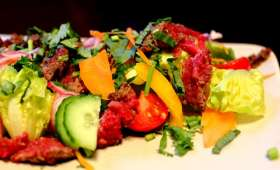 Salade de boeuf thaïlandaise
