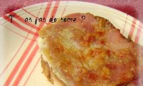 Welsh au Maroilles et fondue de poireaux