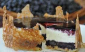 Le Cheese-Cake aux Myrtilles Sauvages de Montreux