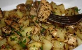 Poulet aux herbes & ses pommes de terre