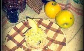 """""""Salade de riz"""" pressée à la pomme"""