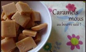 Caramels Mous au beurre salé