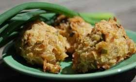 Boulettes de thon au zaathar et flocons de riz