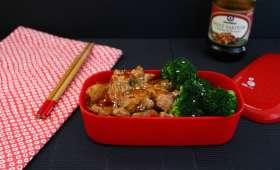 Bento de poulet aux noix de cajou