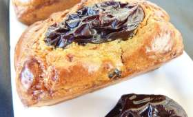 Cake salé so british: stilton, whisky et pruneaux