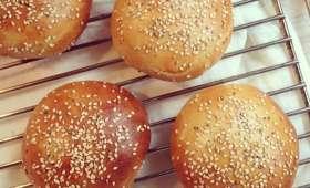 Buns à hamburger parfaits