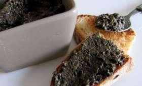 Tapenade d'olives noires