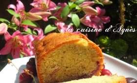 cake à l'amande et aux cerises