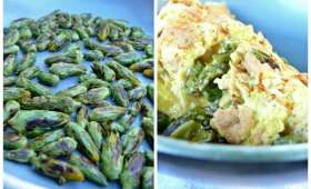 Omelette aux fleurs de scorsonères