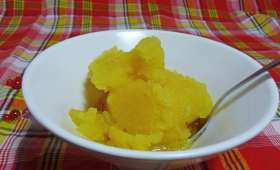 Sorbet maracuja (fruit de la passion)