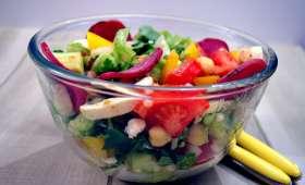 Salade aux couleurs de l'été