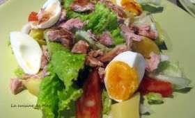 Salade mixte au thon