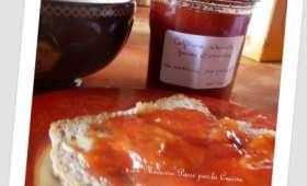 Confiture d'abricots, fraises et vanille