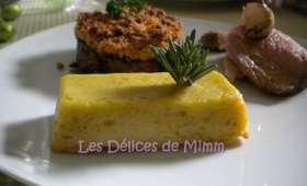 Petits cakes de pommes de terre à la tapenade d'olives vertes