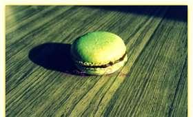 Macaron choco-menthe