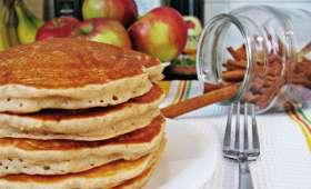 Pancakes pommes-millet sans gluten