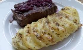Papillotes de pommes de terre au fromage