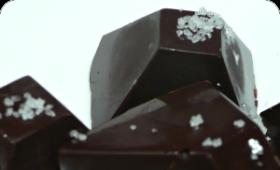 chocolat noir à la fleur de sel