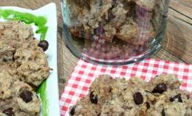 Cookies pomme-noisette-chocolat