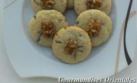 Biscuits aux noix et au chocolat noir